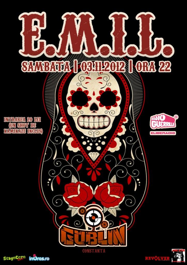 Concert E.M.I.L. in Goblin