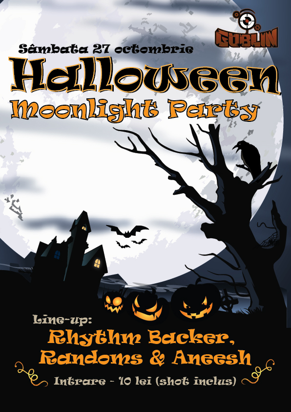 Halloween Moonlight Party in Goblin
