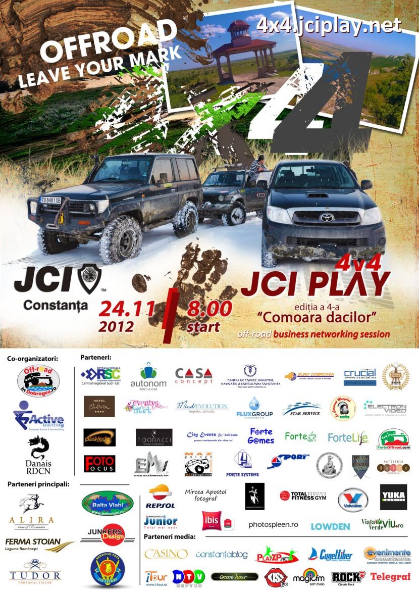 """Trăiește experiența JCI PLAY 4×4 ediția a IV-a """"Comoara Dacilor"""""""