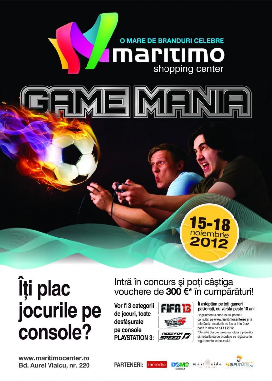 Game Mania in Maritimo Shopping Center