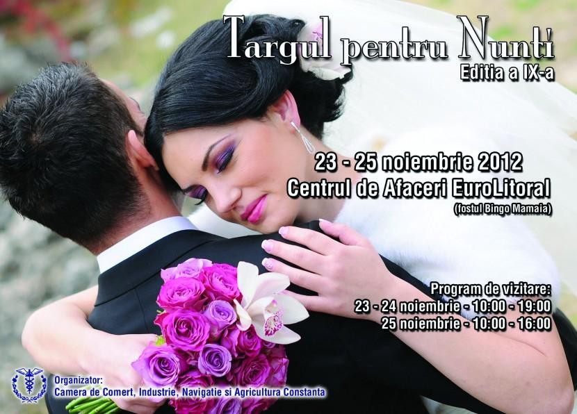 TARGUL pentru NUNTI 2012 editia a IX- a