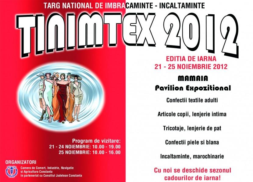 Târgul Naţional de Îmbrăcăminte si Încălţăminte TINIMTEX