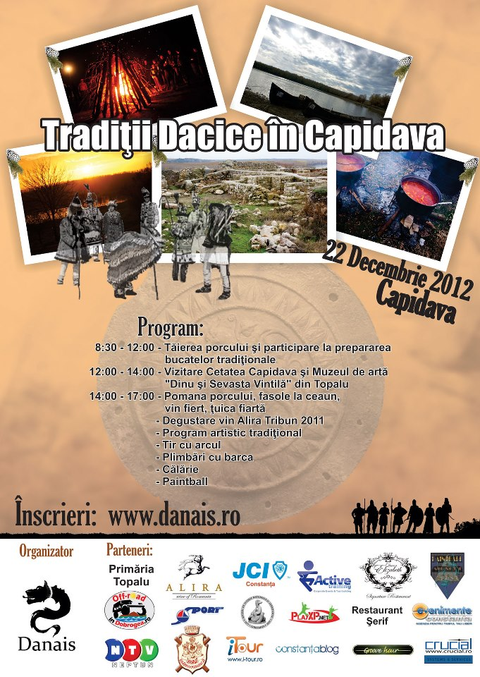 Eveniment: TRADITII DACICE in CAPIDAVA