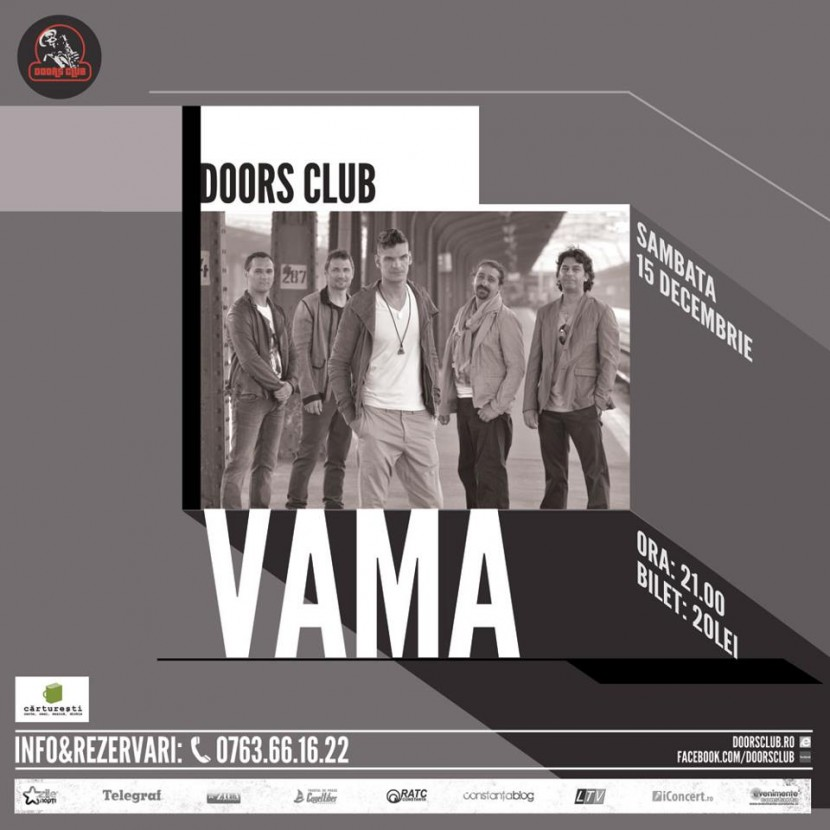 Concert VAMA in club Doors
