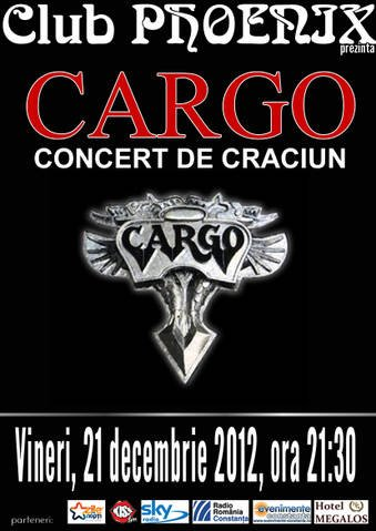 Concert de Craciun cu CARGO in club Phoenix