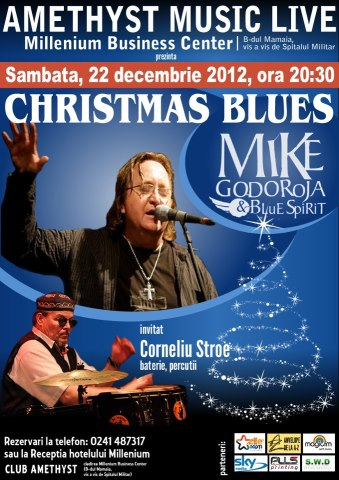 Concert CHRISTMAS BLUES in Amethyst Music Club