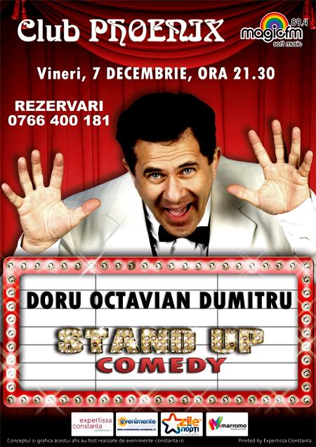CONCURS: Castiga o INVITATIE de 2 persoane la show-ul cu Doru Octavian Dumitru din Club Phoenix