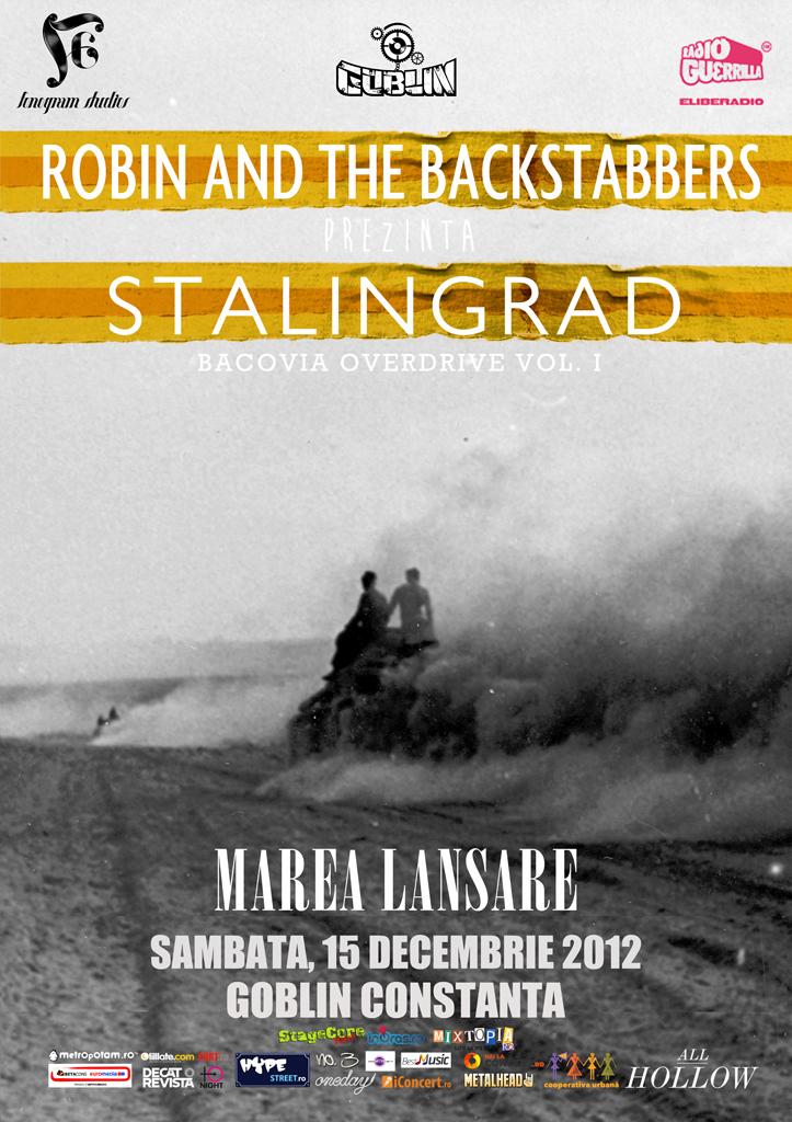 ROBIN AND THE BACKSTABBERS – LANSARE ALBUM – GOBLIN CONSTANTA