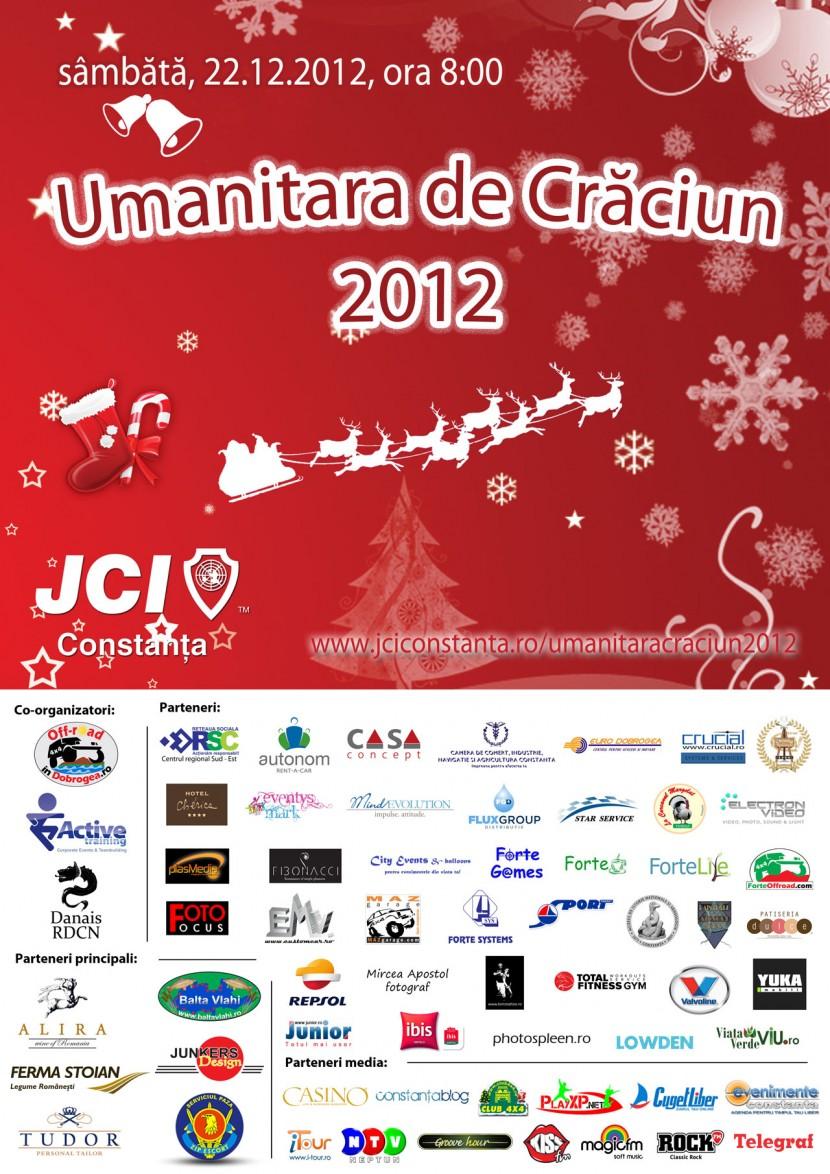Implica-te si TU in Umanitara de Crăciun 2012 de la Capidava