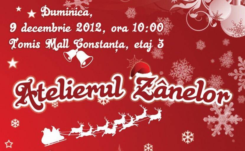 ATELIERUL ZÂNELOR aduce magia sărbătorilor de iarnă in Tomis Mall