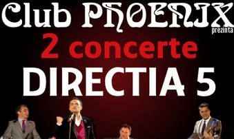 2 concerte DIRECTIA 5 in Phoenix: unplugged si electric