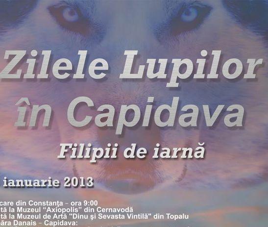 Zilele Lupilor în Capidava (Județul Constanța)