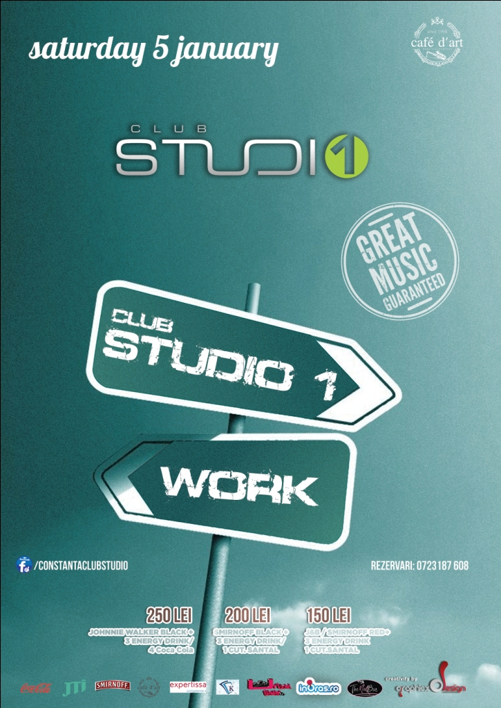 Work or STUDIO 1 Party
