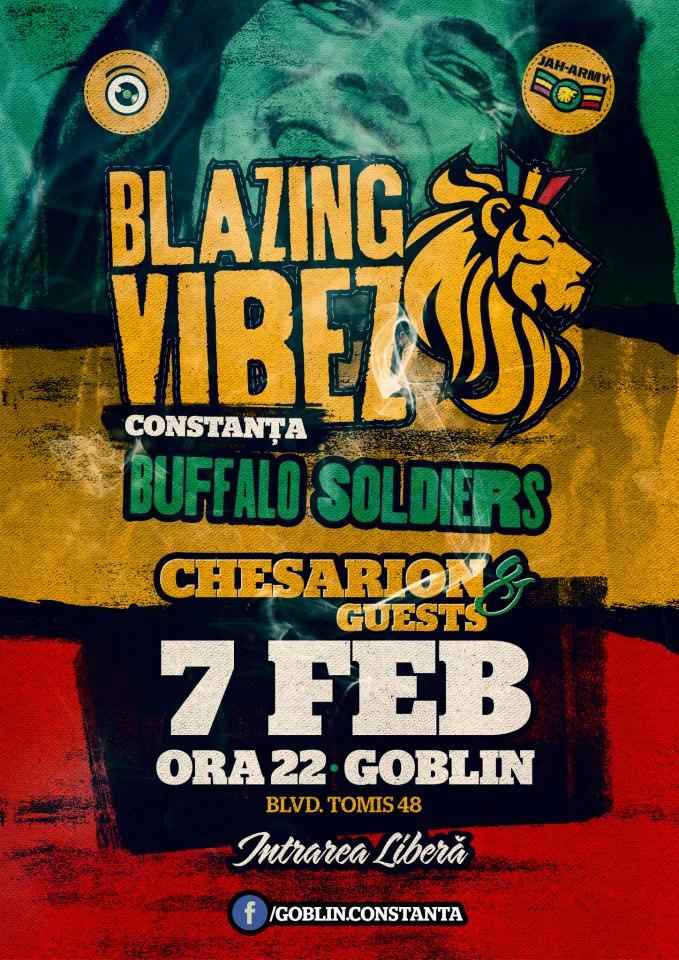Blazing Vibes Buffalo Soldiers (Bob Marley) in Goblin