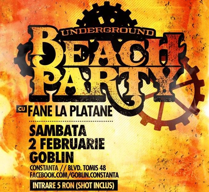 Underground Beach Party in Goblin