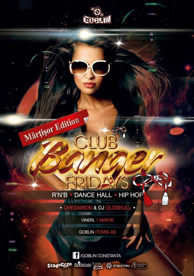 Club Bangers Friday – Martisor cu Chesarion & DJ Oldskul