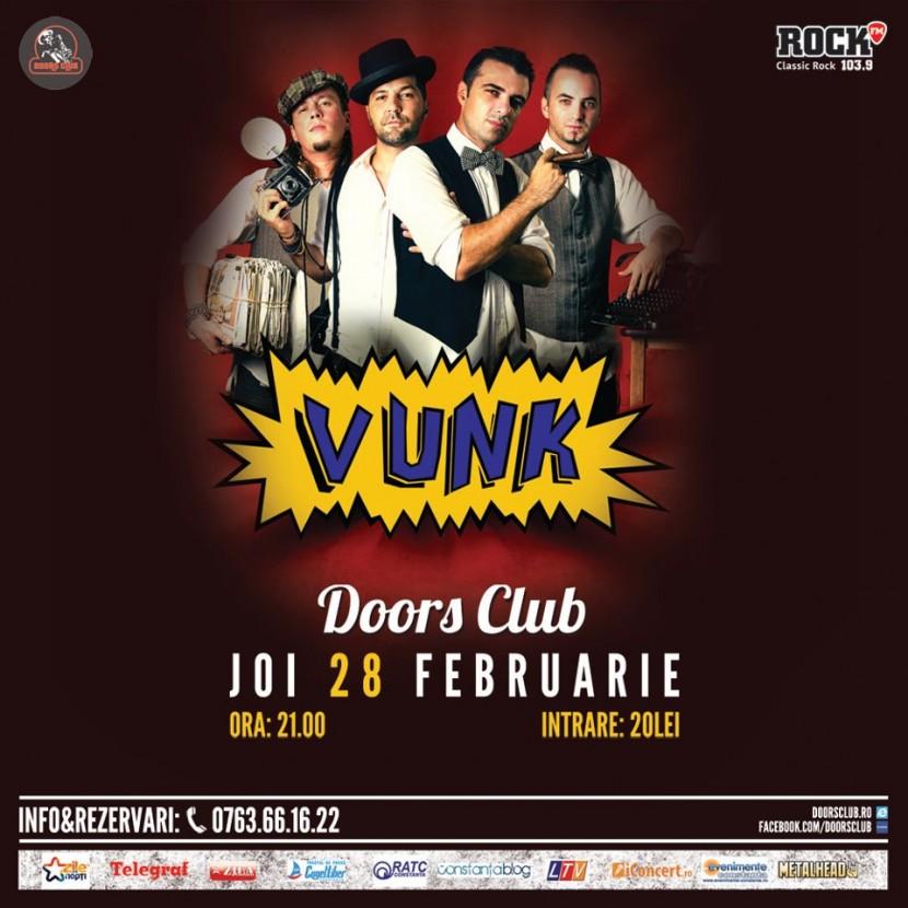 Concert VUNK in club Doors