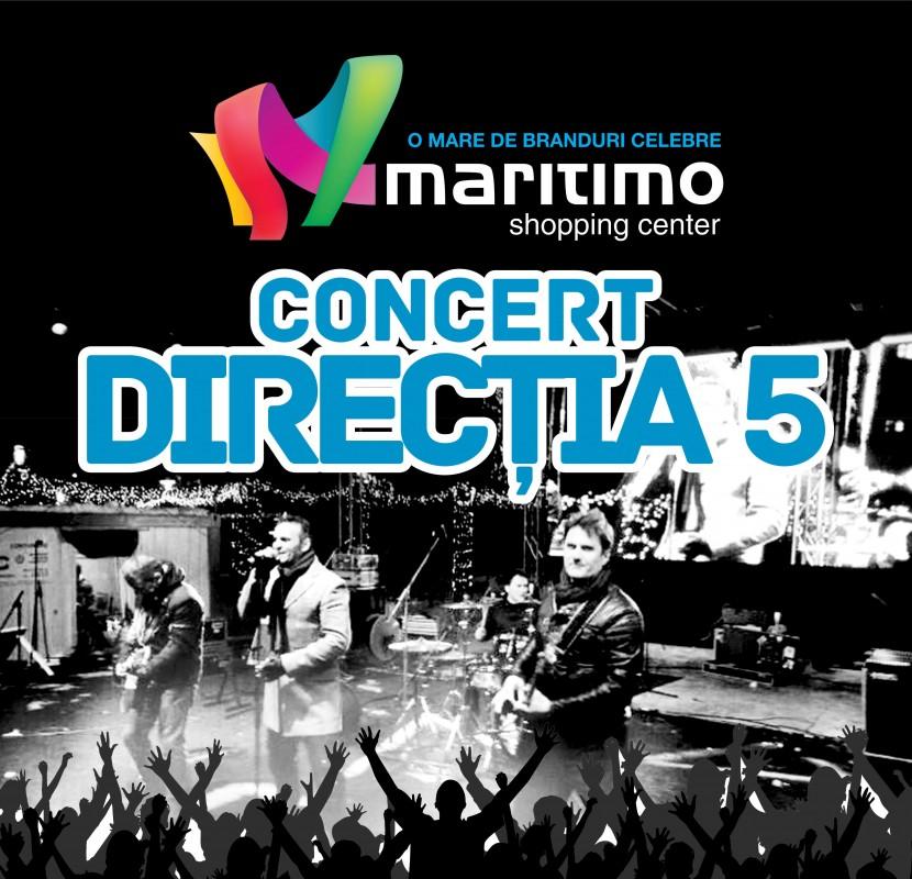 Concert DIRECTIA 5 in Maritimo