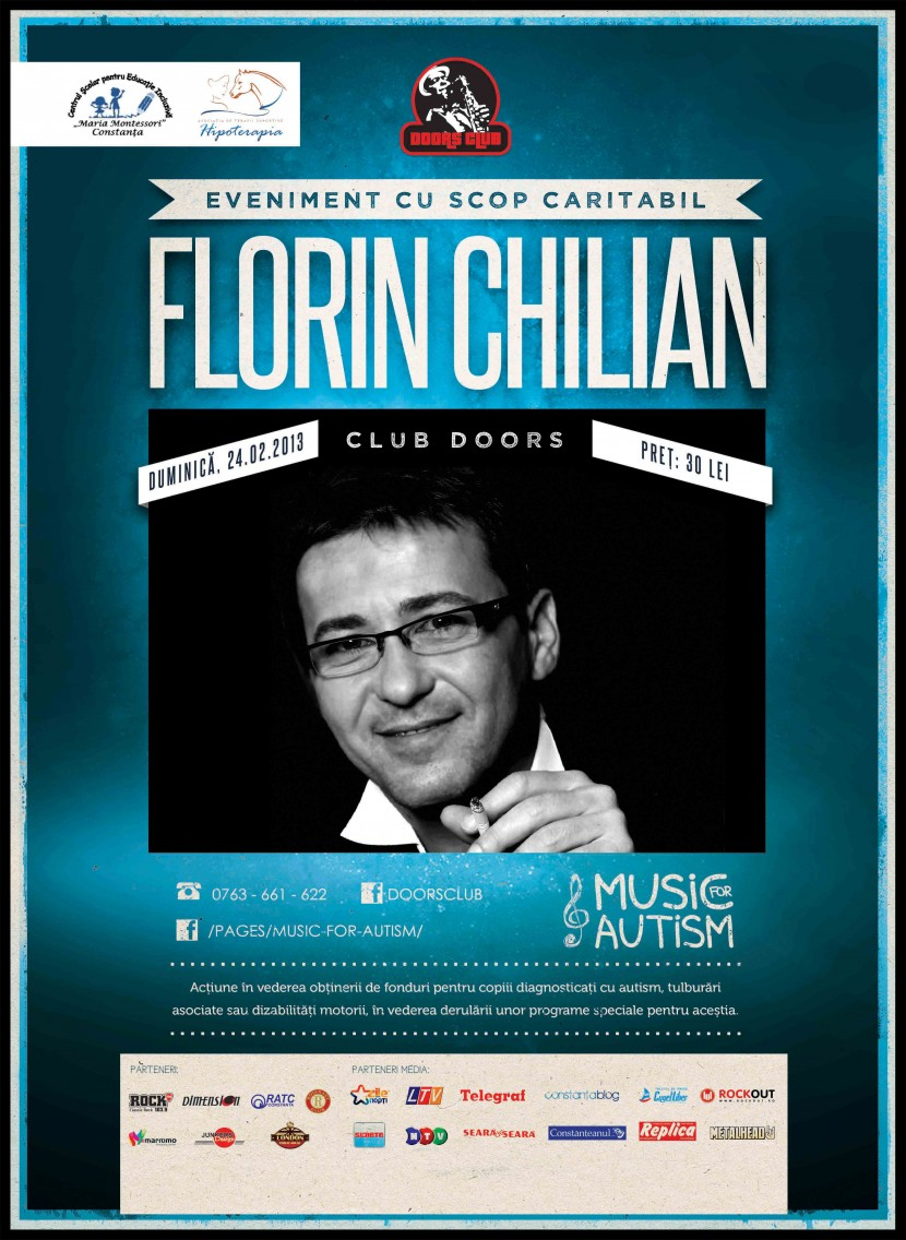 Concert caritabil Florin Chilian in Club Doors