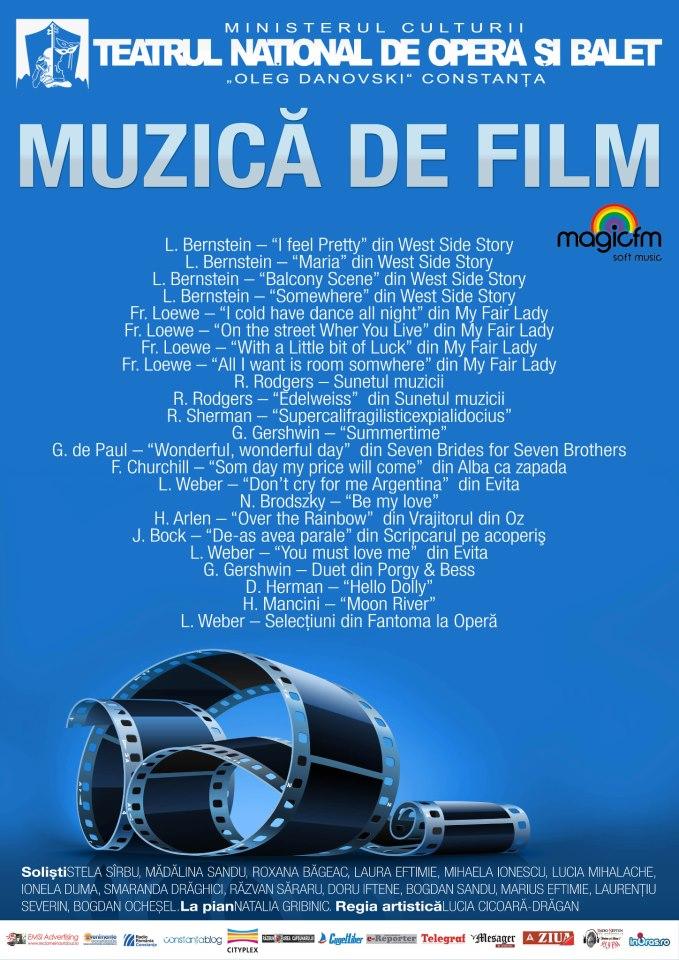 """RECITAL """"MUZICA DE FILM"""" la TNOB """"Oleg Danovski"""""""