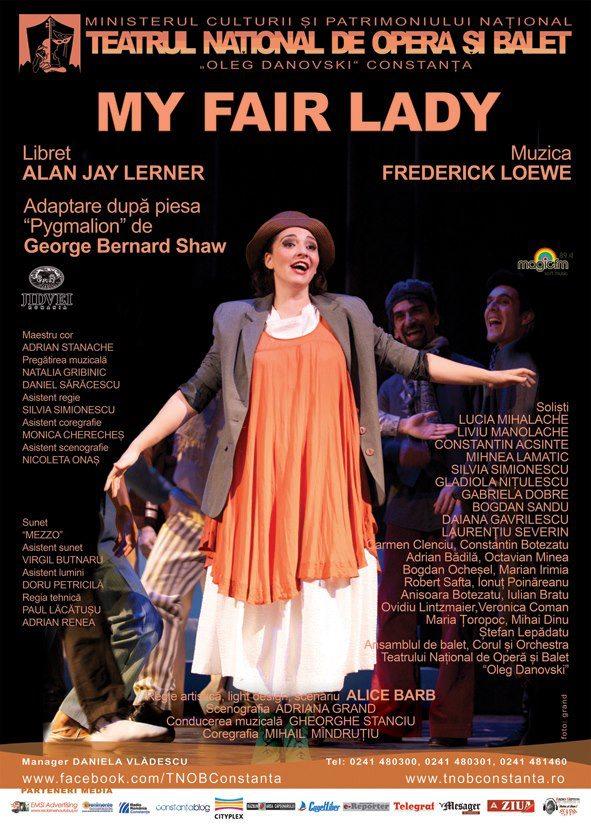 "Spectacolul ""My Fair Lady"" la TNOB Oleg Danovski"