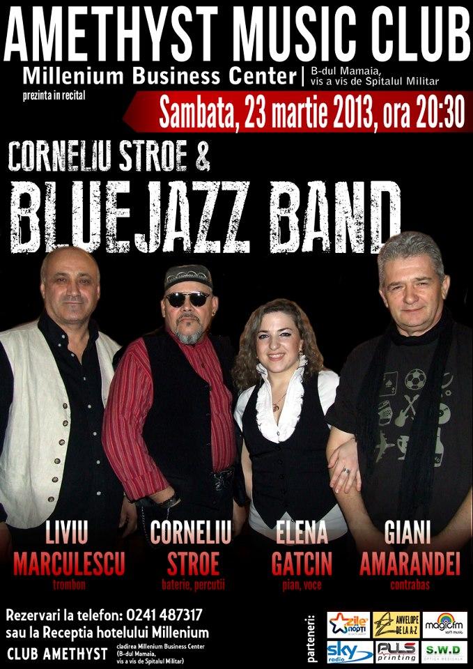 CONCERT Corneliu Stroe & Blue Jazz Band in Club Amethyst