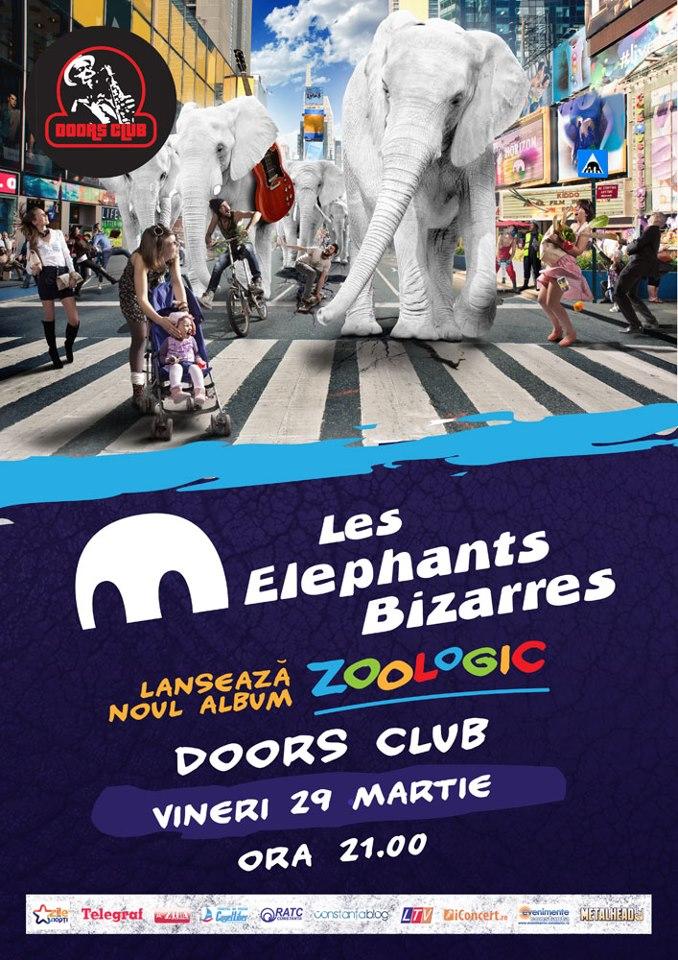 Lansare album Les Elephants Bizairres în Doors