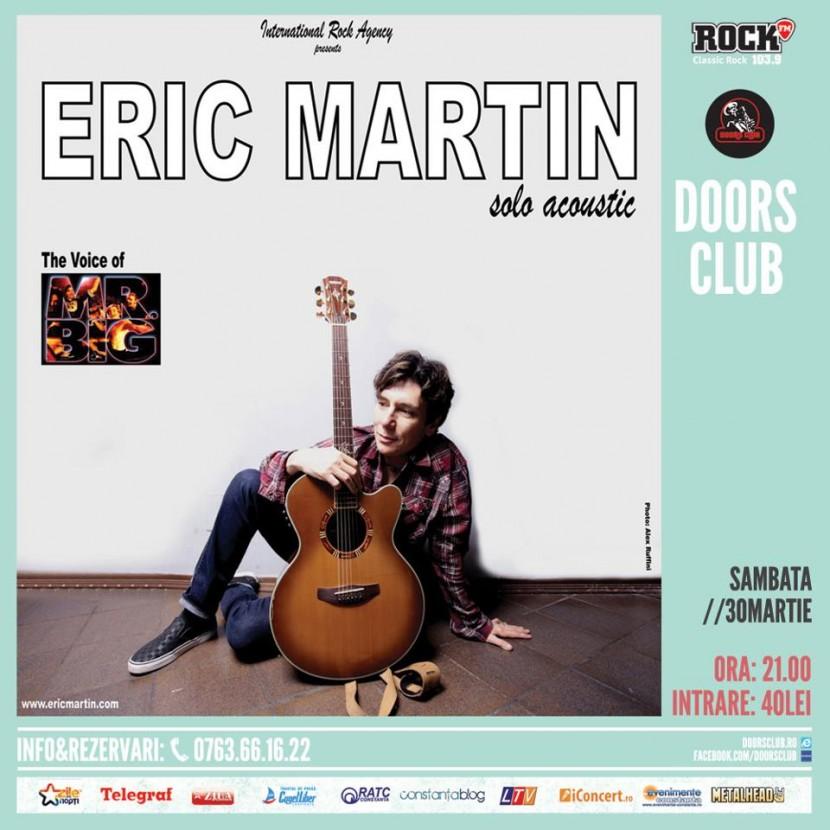 Eric Martin (Mr. BIG) în Club Doors