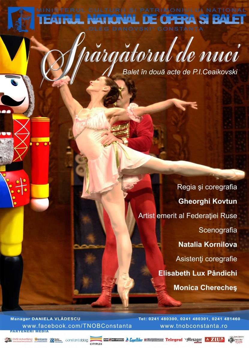 """""""Spărgătorul de nuci"""" pe scena Teatrului Naţional de Opera şi Balet """"Oleg Danovski"""""""