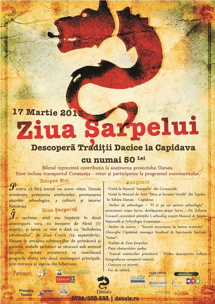 Ziua Şarpelui în Capidava