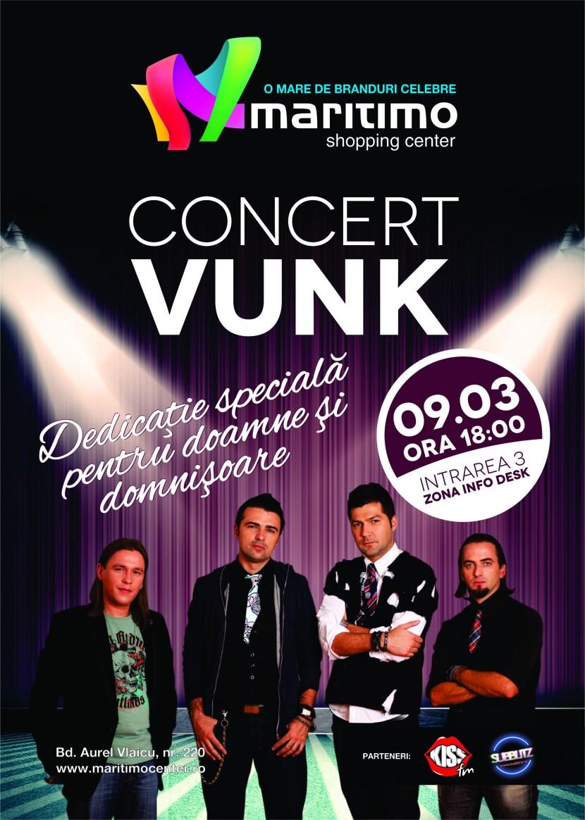 Concert VUNK in Maritimo