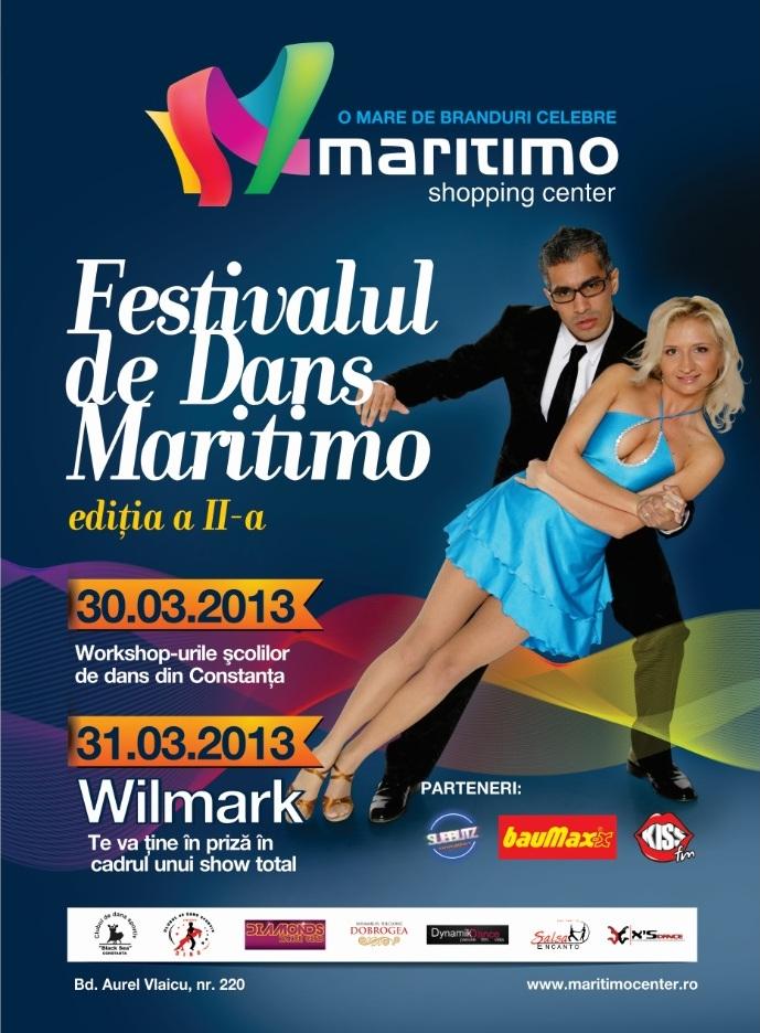 Festivalul de Dans MARITIMO prezentat de Wilmark