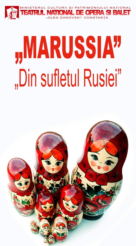 """Marussia """"Din sufletul Rusiei"""" la TNOB Oleg Danovski"""