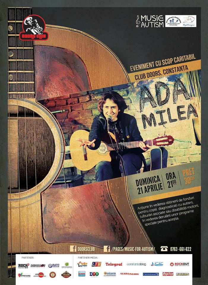 Music for Autism: ADA MILEA in Club Doors