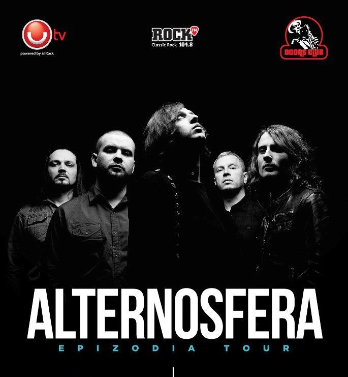 Concert si lansare album ALTERNOSFERA in Club Doors