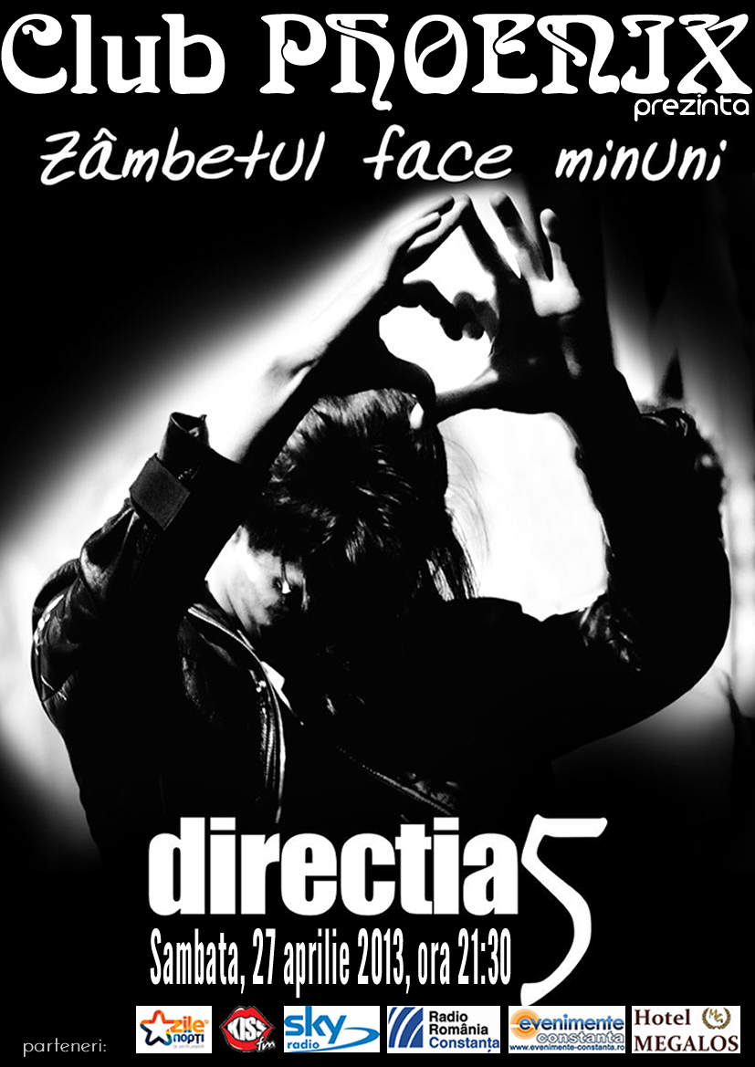CONCERT Directia 5 in Club Phoenix