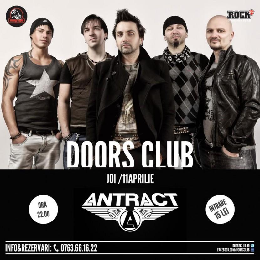 Concert ANTRACT in Club Doors