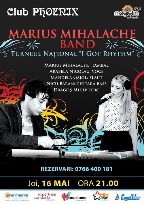 CONCURS: Castiga o INVITATIE DUBLA la concertul cu Marius Mihalache Band