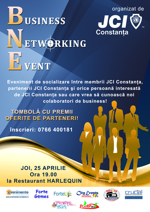 JCI Constanța organizează Business Networking Event la Restaurant Harlequin