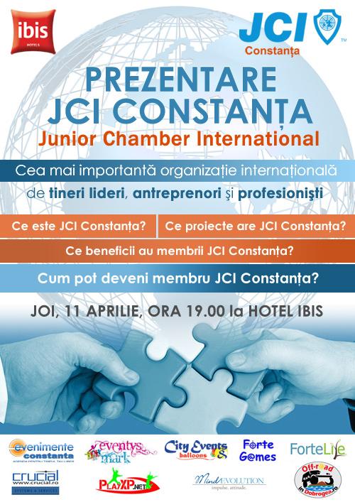 Junior Chamber International (JCI) își deschide porțile pentru constănțeni pe 11 aprilie la Hotel Ibis