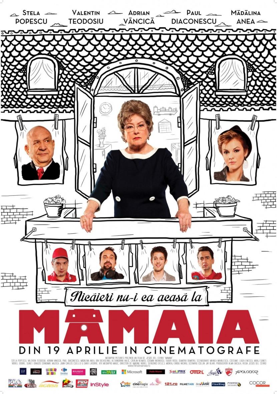 STELA POPESCU vine la Constanta pentru lansarea filmului MAMAIA pe marile ecrane