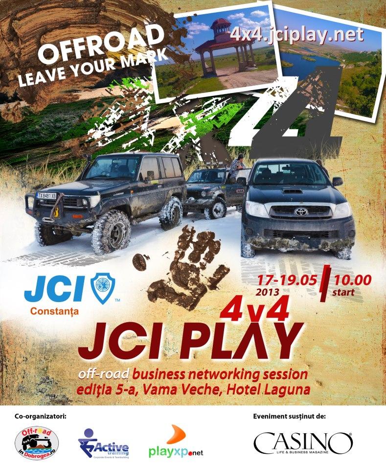 JCI PLAY 4×4 ediția a V-a cu și mai multă adrenalină iți dă întâlnire la Vama Veche