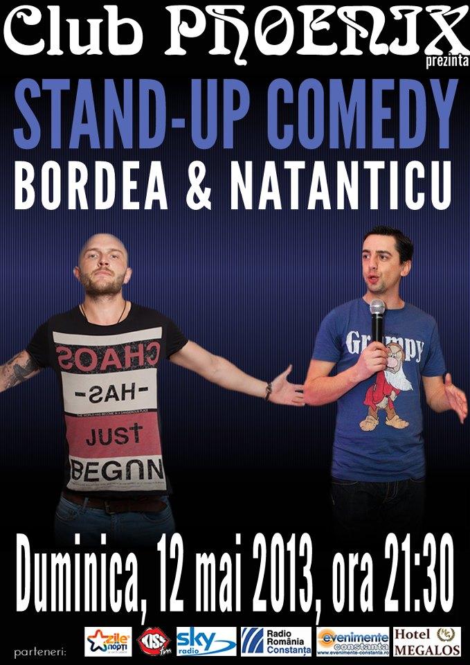 Stand-up comedy cu BORDEA si NATANTICU