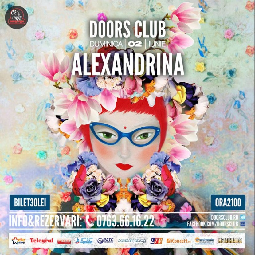 Concert ALEXANDRINA in Club Doors
