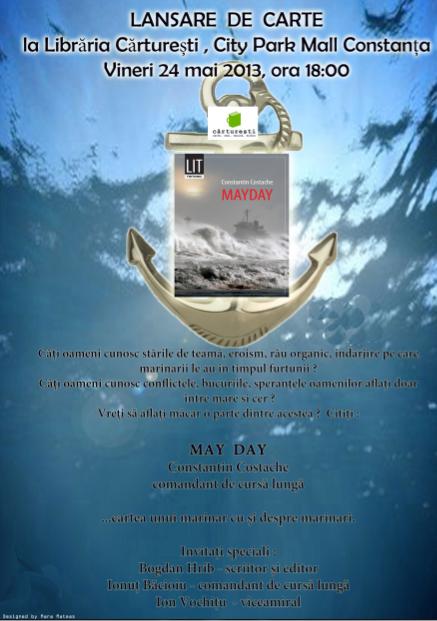 Lansare MAYDAY de Constantin Costache la Libraria Carturesti