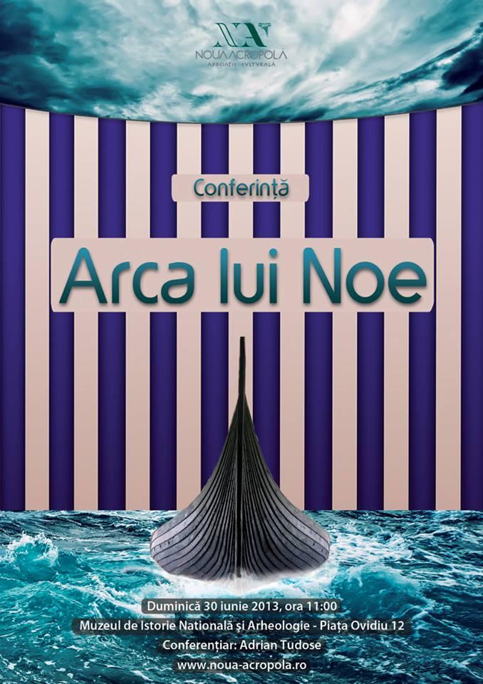 Conferinta: Arca lui Noe la Muzeul de Istorie Nationala si Arheologie Constanta