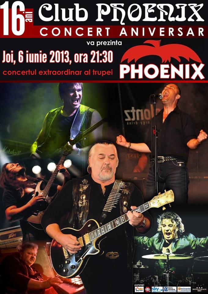 Club Phoenix aniverseaza 16 ani cu trupa Phoenix