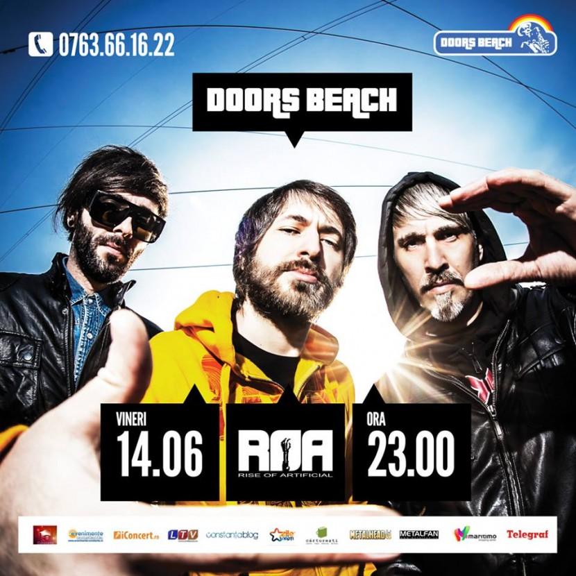 Concert ROA la Doors Beach