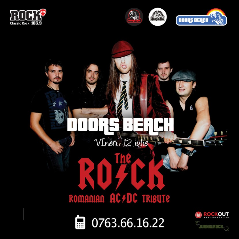 Concert THE ROCK la Doors Beach