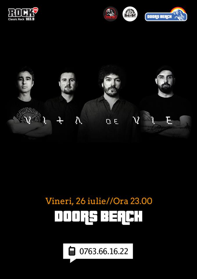 Concert Vita de Vie la Doors Beach